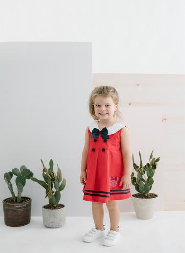 Minnie Mouse Elbise Kırmızı